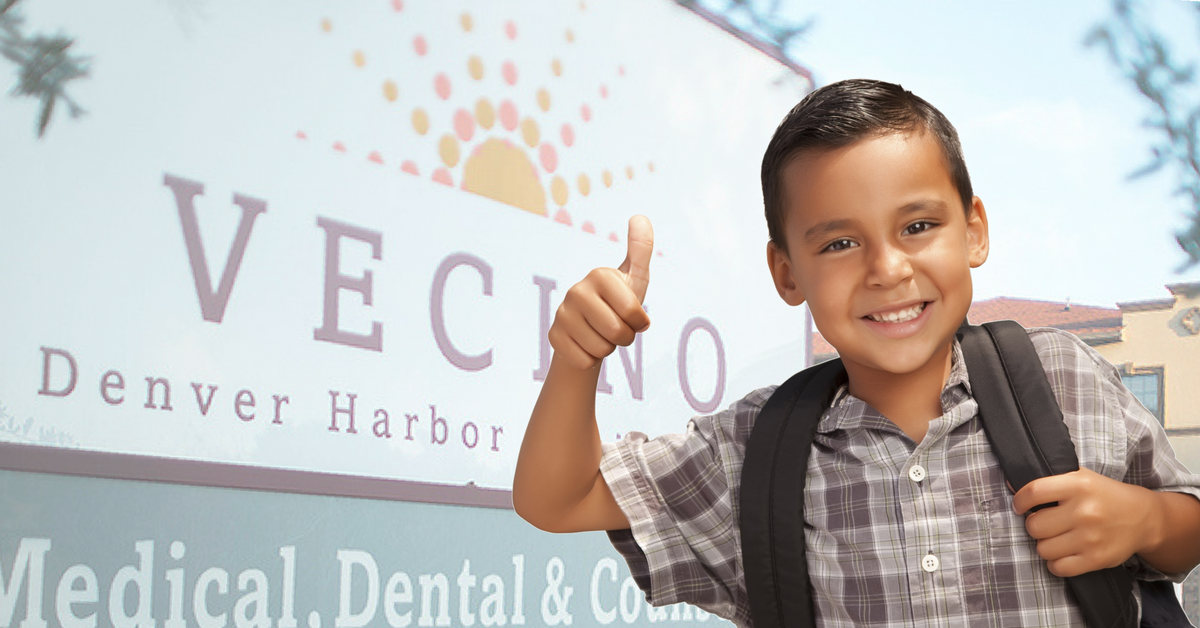 back to school Vecino Health Centers